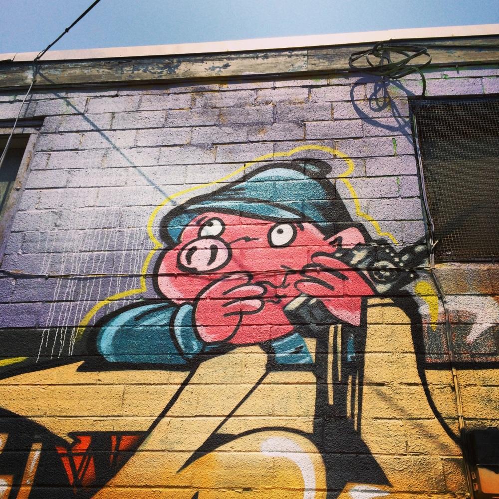 Graffiti, Dartmouth, Summer 2014